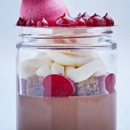 Chocolat et Framboise Verrine